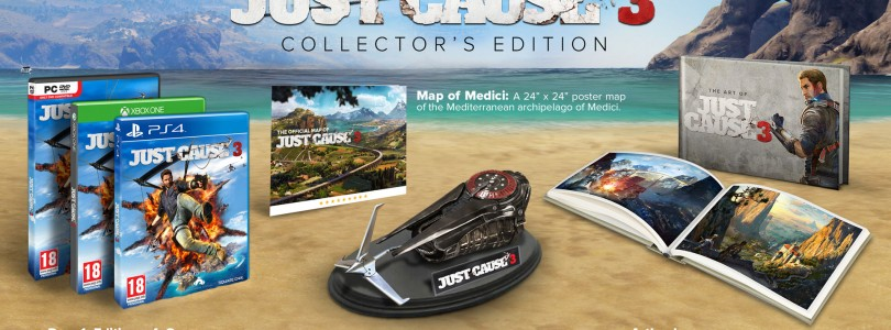 Just Cause 3 Collector's Edition Competition Winner