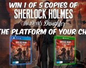 Win 1 of 5 Copies of Sherlock Holmes: The Devil's Daughter