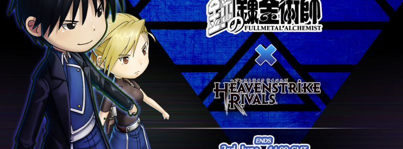 Heavenstrike Rivals Collaborates With Full Metal Alchemist