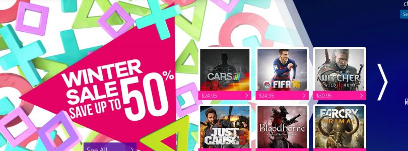 PSN's Winter Sale Detailed