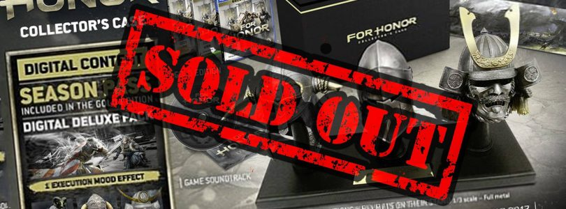 For Honor Collector's Editions Have Already Sold Out [Update]