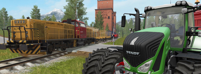 Farming Simulator 17 – Life On The Railroad