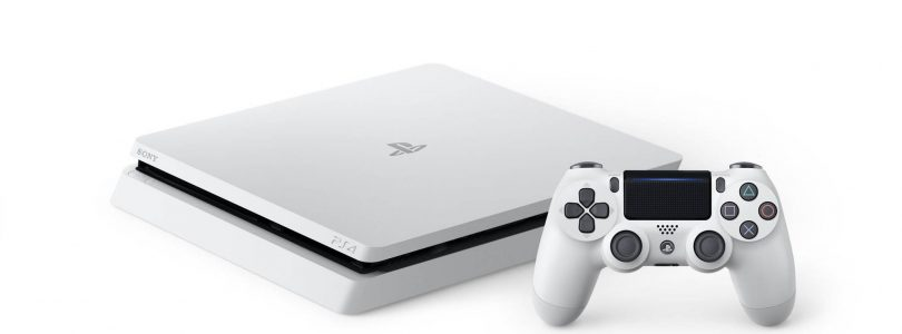 The New-Look PS4 Will Be Available In Glacier White Later This Month
