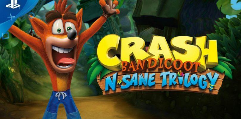 Crash Bandicoot N. Sane Trilogy Releasing June 30th