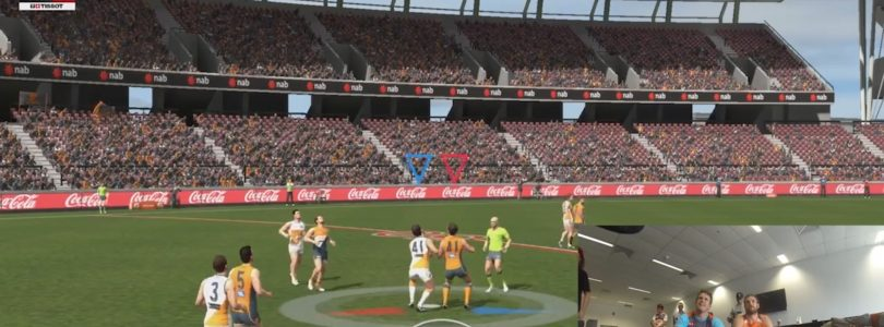 Watch The First Gameplay Footage of AFL Evolution