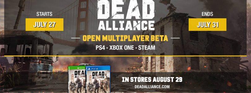 Dead Alliance To Get Open Beta