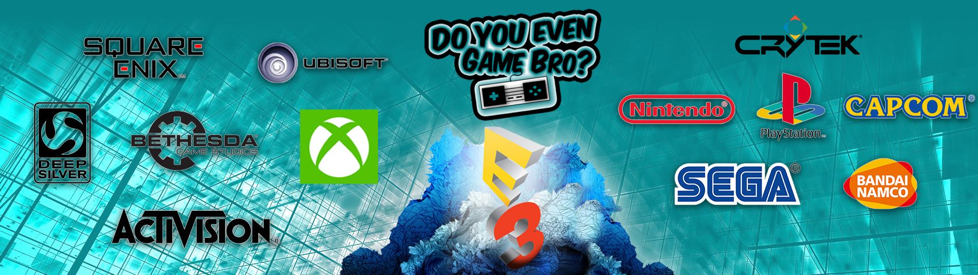 E3 2017 banner