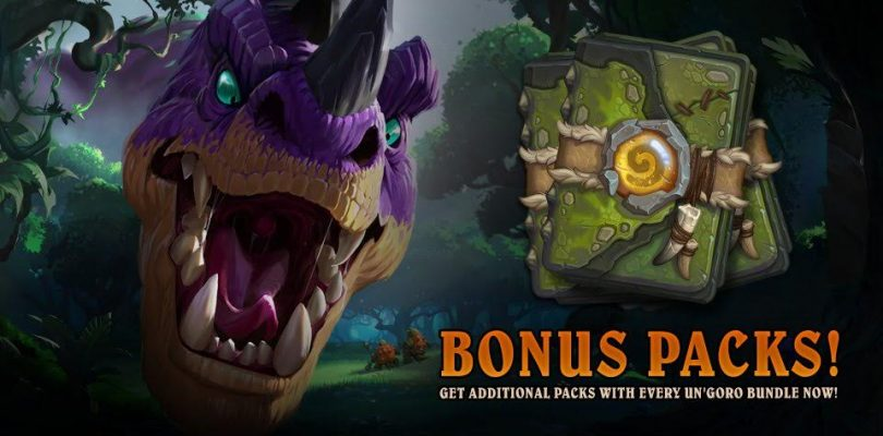 Hearthstone – Nab Some Bonus Un'Goro Packs Now