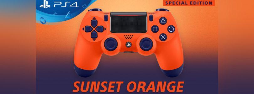 Sony Announce The Sunset Orange DualShock 4 Controller