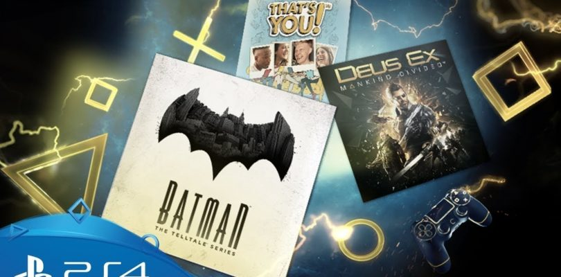 PS Plus Games For January 2018 Announced