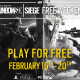 Rainbow Six Siege – Free Weekend Starts February 16th