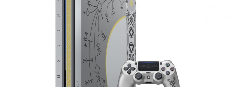 NEW Limited Edition God of War Themed PS4 Pro Announced