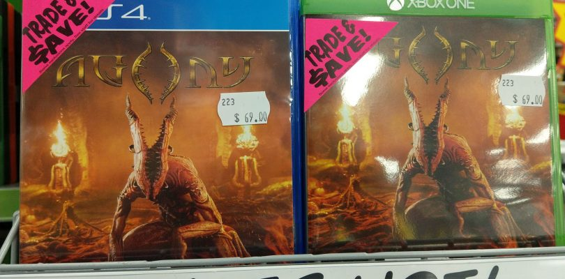 Physical Copies of Agony Now Available At JB Hi-Fi