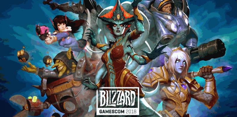Blizzard @ Gamescom 2018