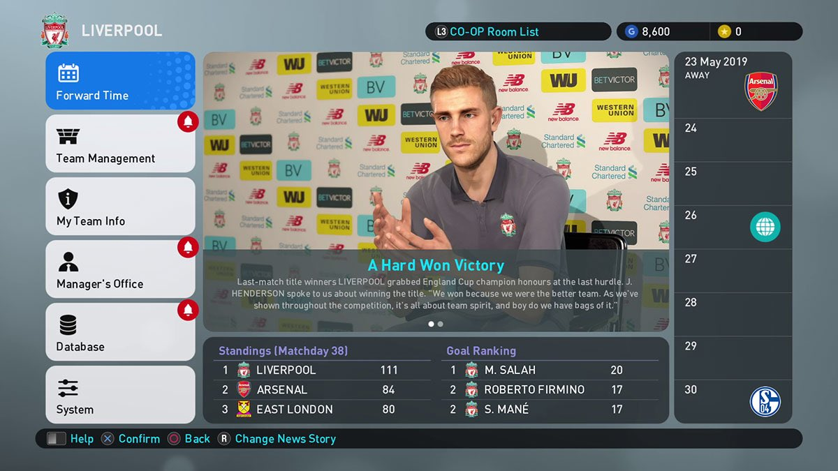 PES 2019 Review - Operation Sports