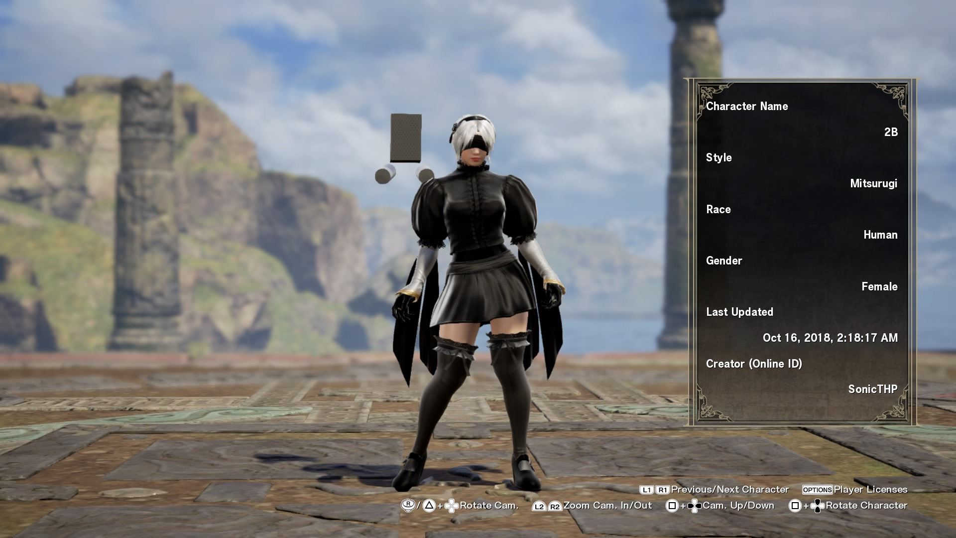 I Love Soulcalibur VI's Custom Characters - You Can Even