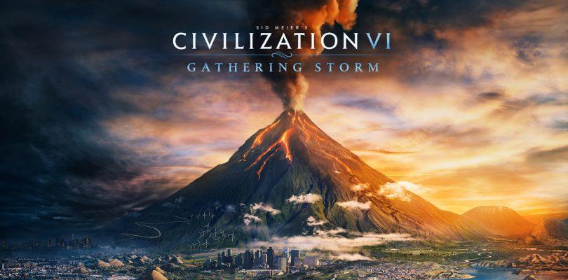 Civilization VI's Second Expansion, 'Gathering Storm', Announced
