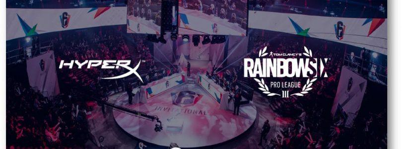 Ubisoft & HyperX Renew Partnership For Rainbow Six Pro League & Majors