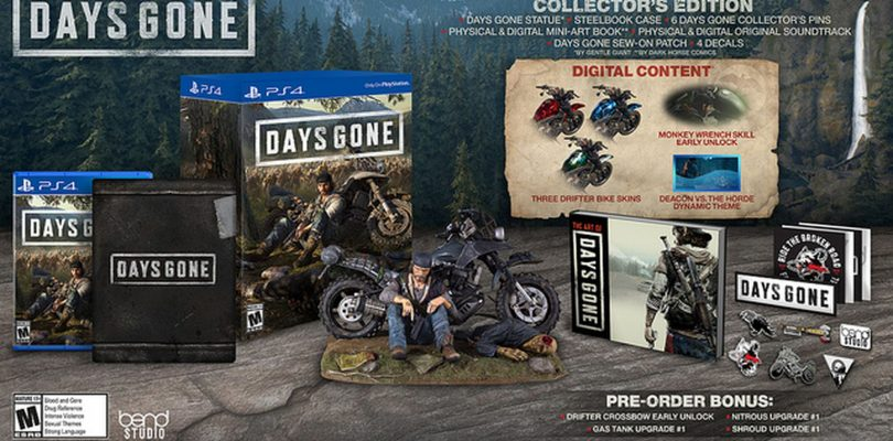 Days Gone Collector's Edition Revealed