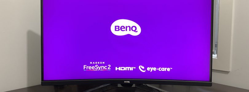 BenQ EX3203R Curved Gaming Monitor Review