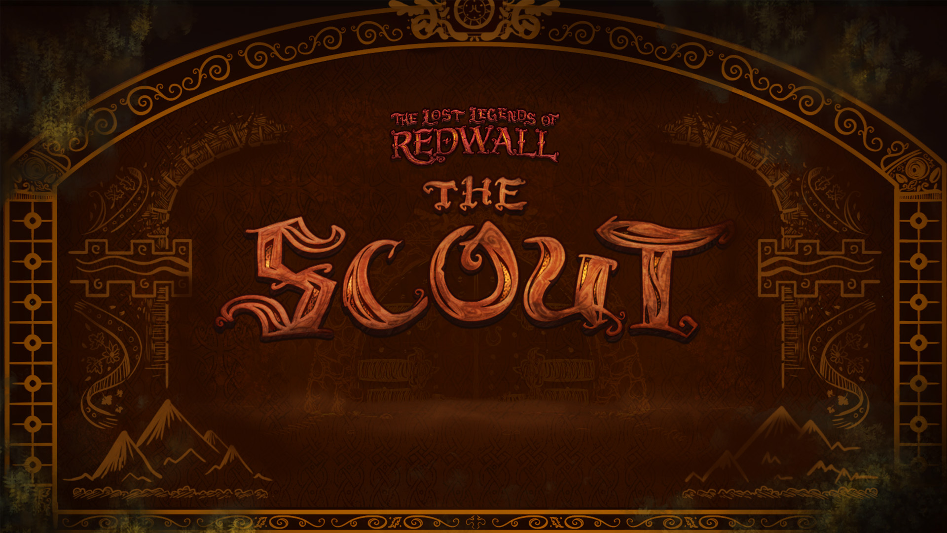the lost legends of redwall the scout pc gameplay