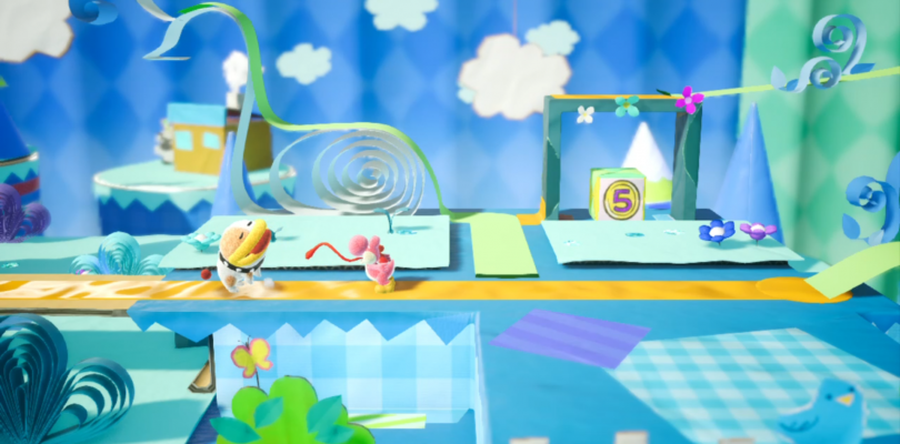 You Can't Pet The Dog In Yoshi's Crafted World But You Can…Lick It?