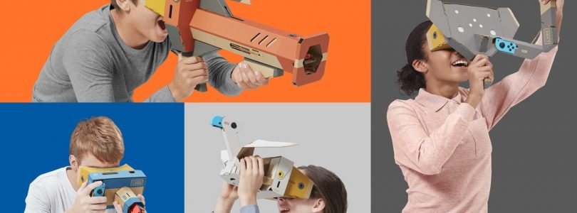 So, Uh, Nintendo Labo VR Is Actually A Thing