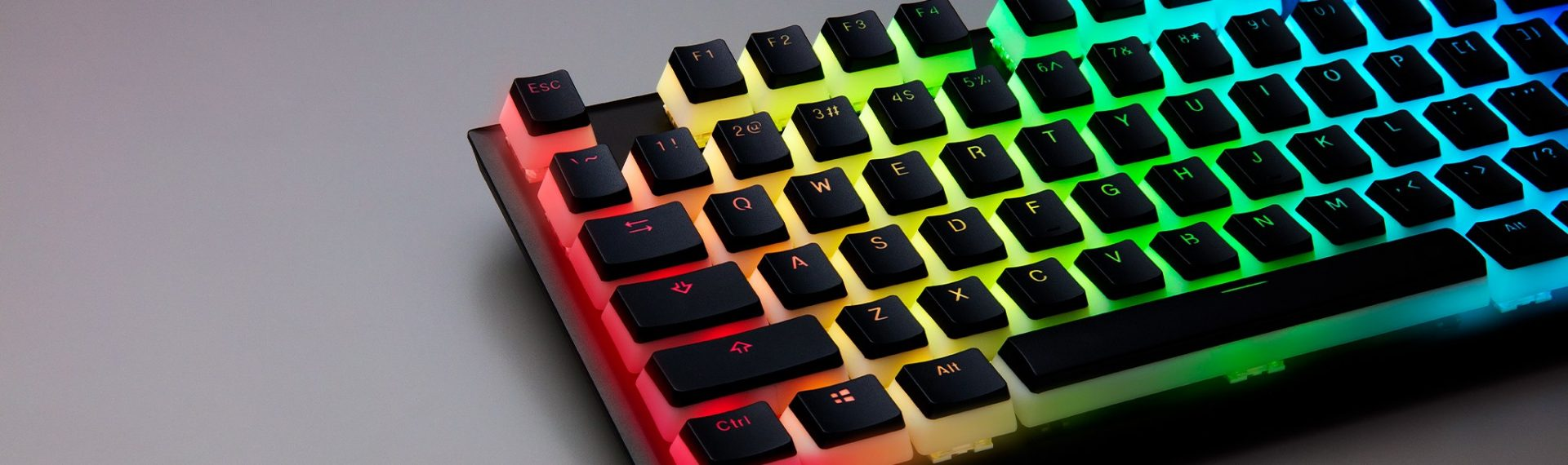 HyperX Double Shot PBT Keycaps Are Sexy As Hell