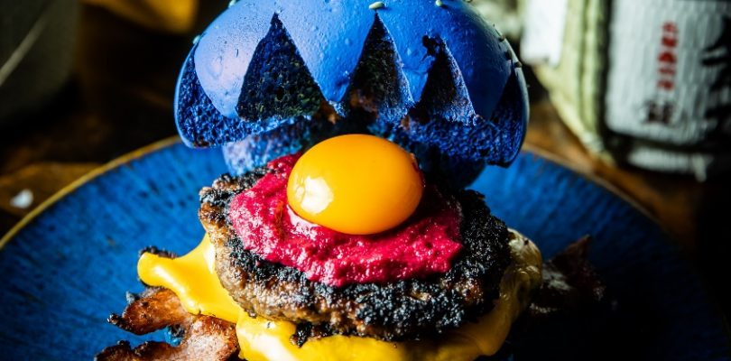 There's An Insane Sonic Themed Burger In Melbourne Right Now