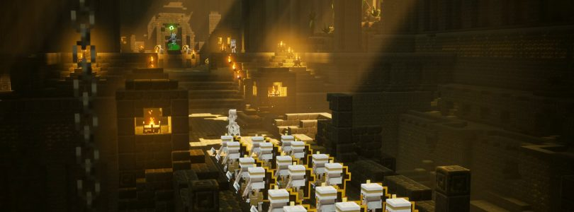 Minecraft Dungeons Announced For Consoles And PC