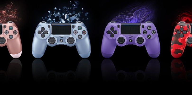 DualShock 4 Gets 4 New Colours And A New Rose Gold Headset