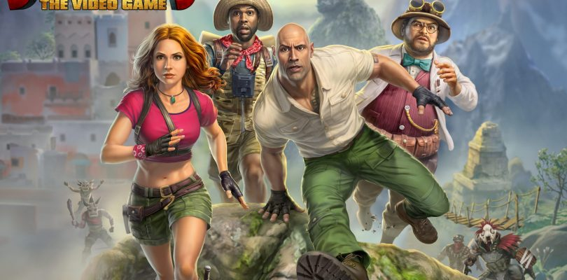 Jumanji: The Videogame Gets First Gameplay Trailer And Release Date