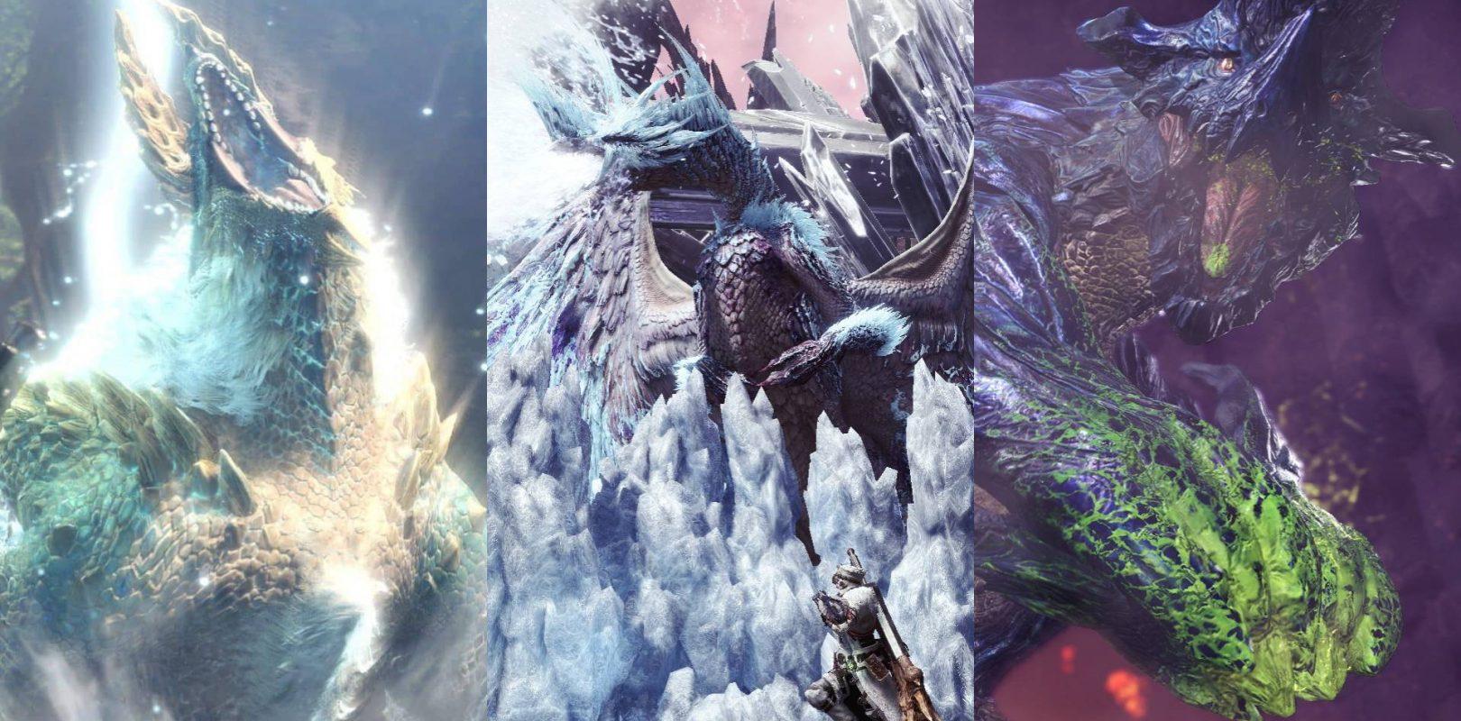 Every Monster In Monster Hunter World Iceborne