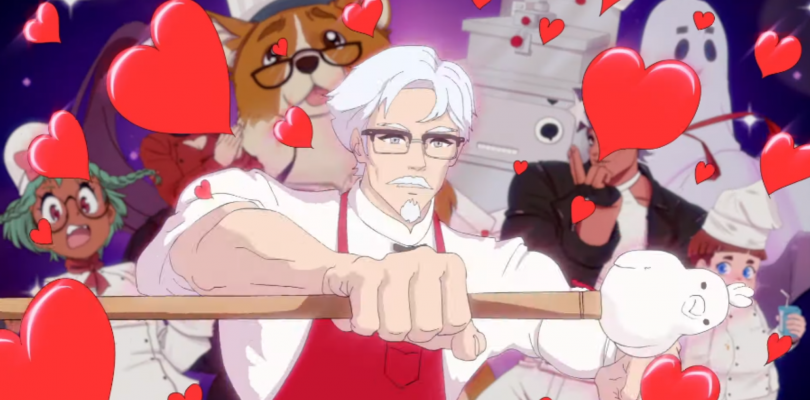 There's An Official KFC Colonel Sanders Dating Sim Coming Soon To Steam