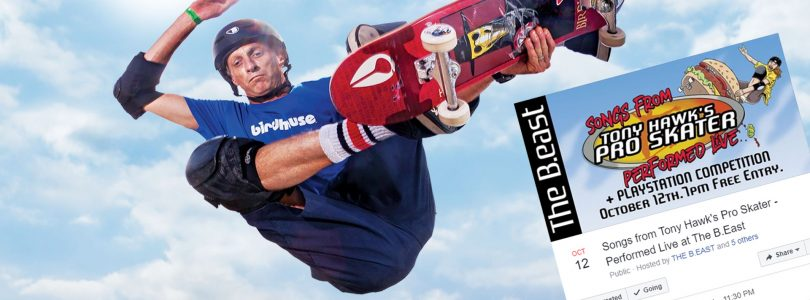 Melbourne Is Hosting A Free Live Gig Of The Tony Hawk's Pro Skater 1 & 2 Soundtracks In October