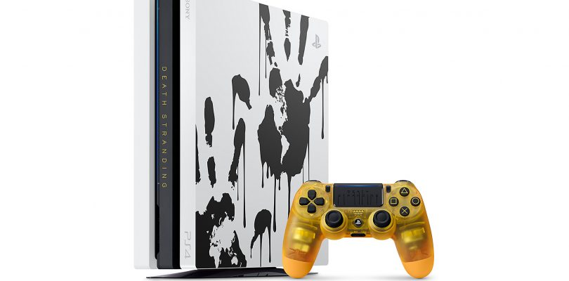 Limited Edition Death Stranding PS4 Pro Console Bundle Revealed