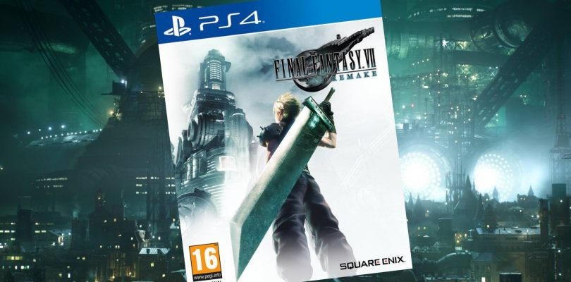 Final Fantasy VII Remake Boxart Revealed