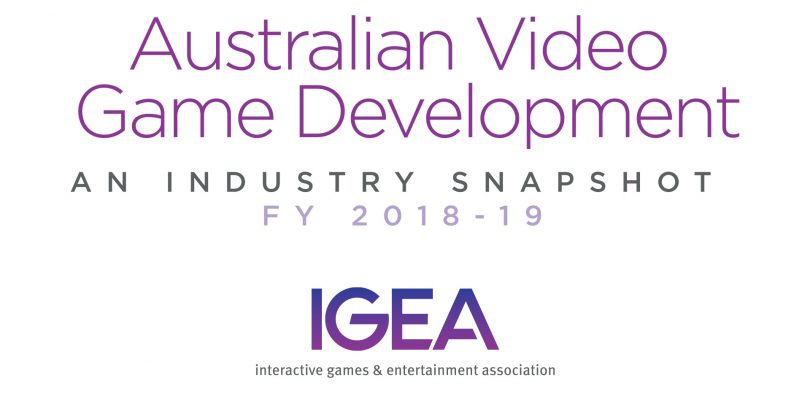 Latest IGEA Survey Finds That The Australian Video Game Development Industry Is On The Rise