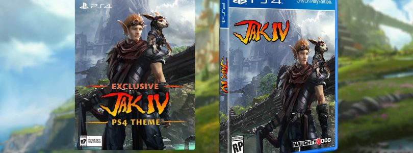 Jak IV, A Cancelled Game, Is Getting An Official Cover And PS4 Theme