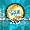 The WellPlayed Game Awards 2019 Winners