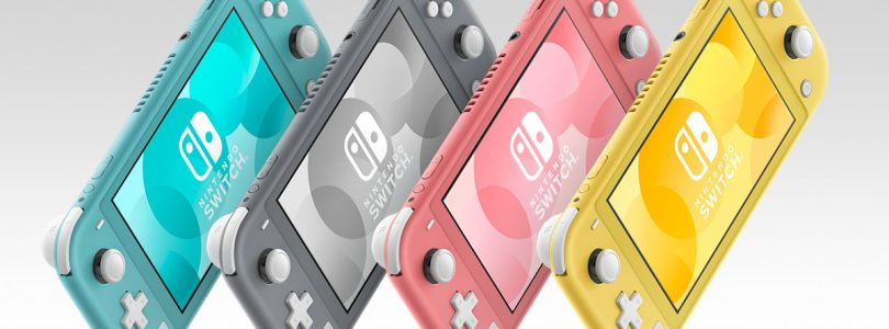 Coral Pink Joins The Nintendo Switch Lite Colour Lineup