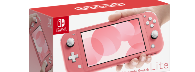 Coral Pink Switch Lite Release Confirmed For Australia