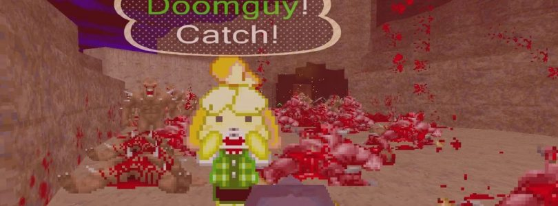 Animal Crossing's Isabelle Can Rip And Tear Through Doom Thanks To A Mod