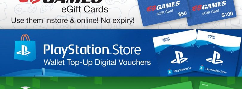 EB Games Gift Cards Have Gone Digital