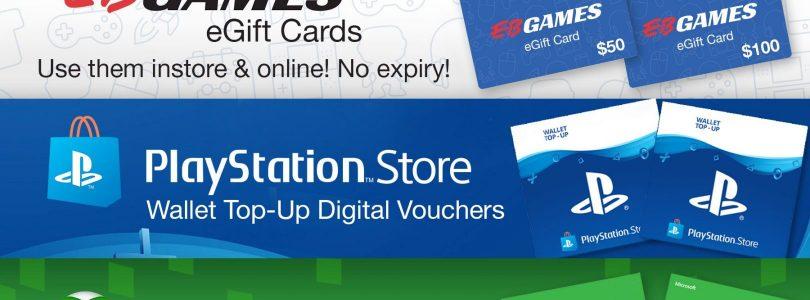 EB Games Gift Cards Have Gone Digital