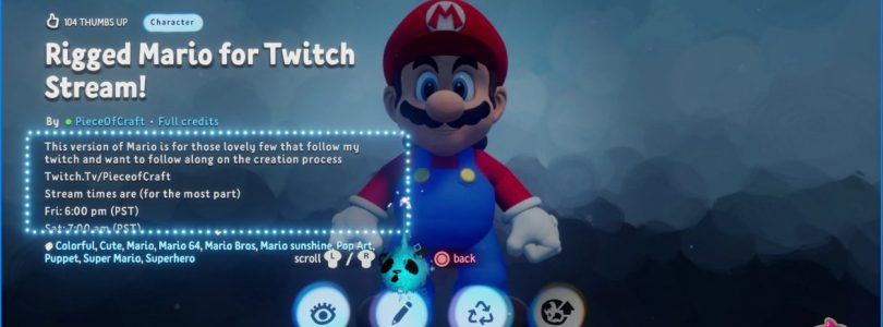 Mario-Inspired Creation Pulled From Dreams Following A Nintendo Copyright Claim