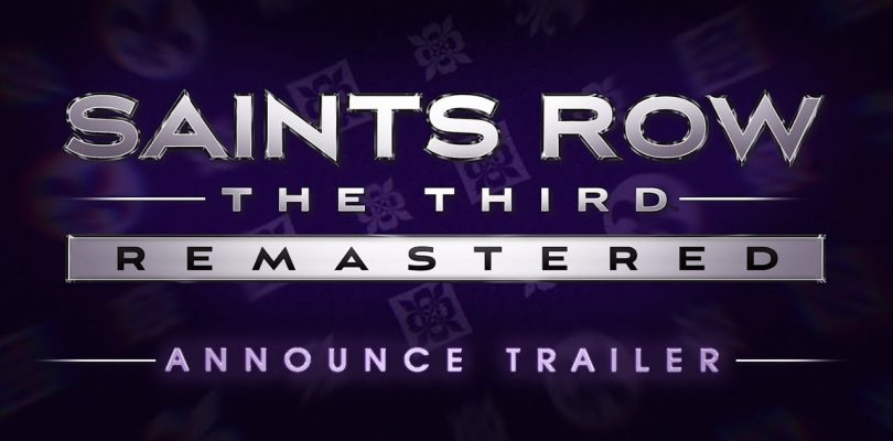 Saints Row: The Third Remaster Announced