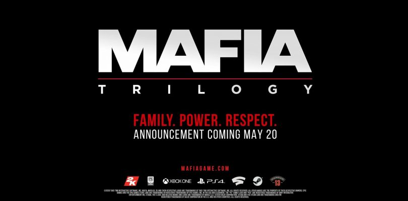 2K Announces Mafia Trilogy – Full Reveal Coming May 20