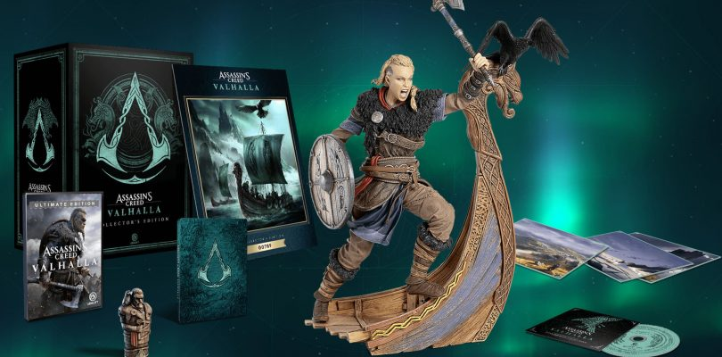 Assassin's Creed Valhalla Collector's Edition Features A Very Angry Female Eivor