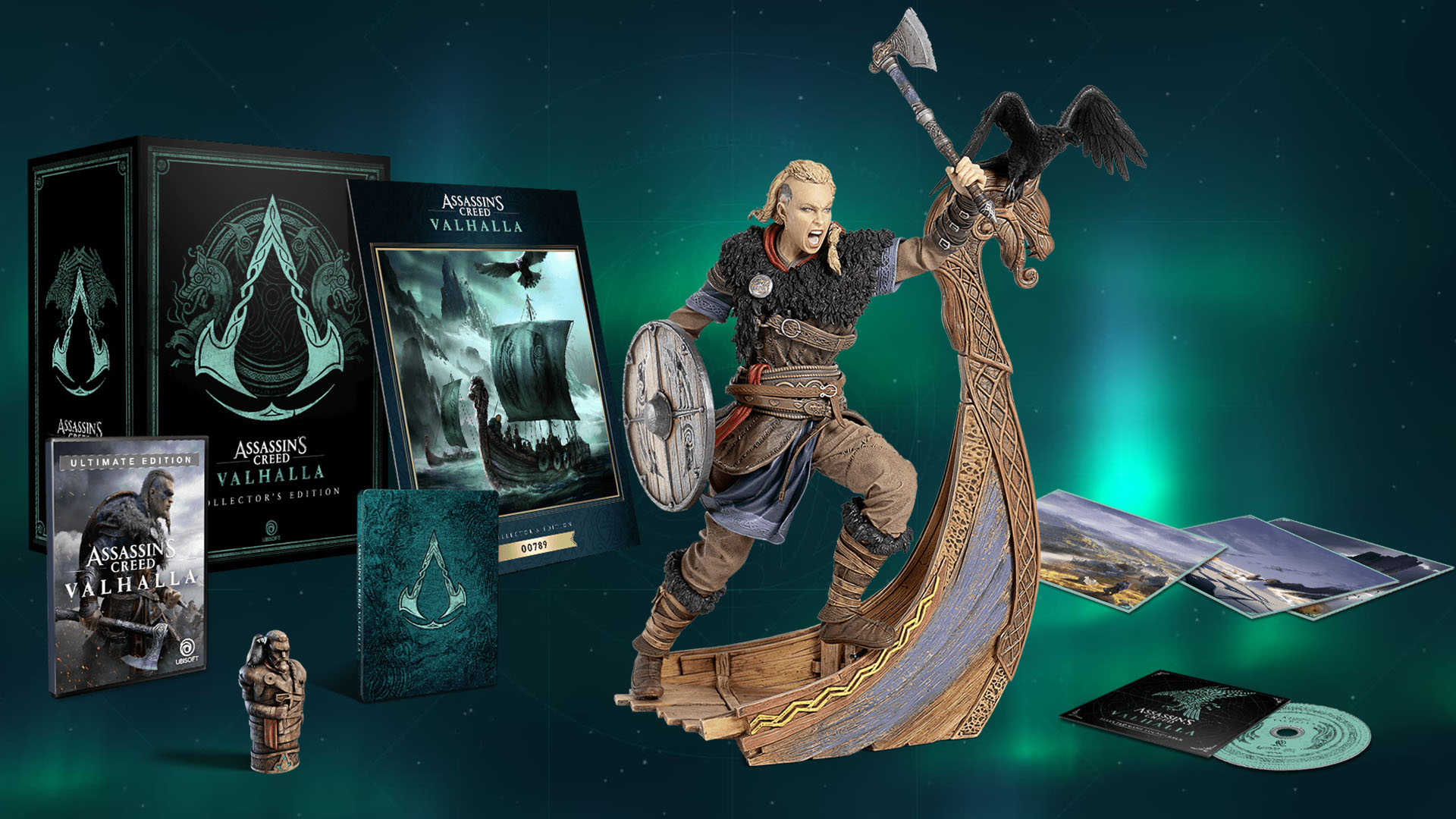 Assassin S Creed Valhalla Collector S Edition Features A Very